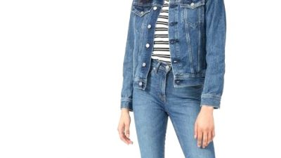 18 of the Finest Jean Jackets for Ladies Who L-O-V-E Denim
