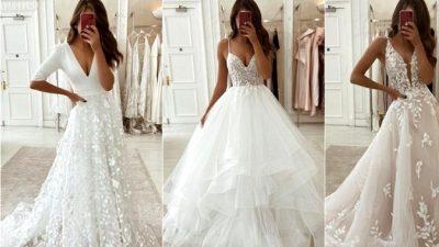 Eleganza Sposa Lace Wedding ceremony Clothes 2020