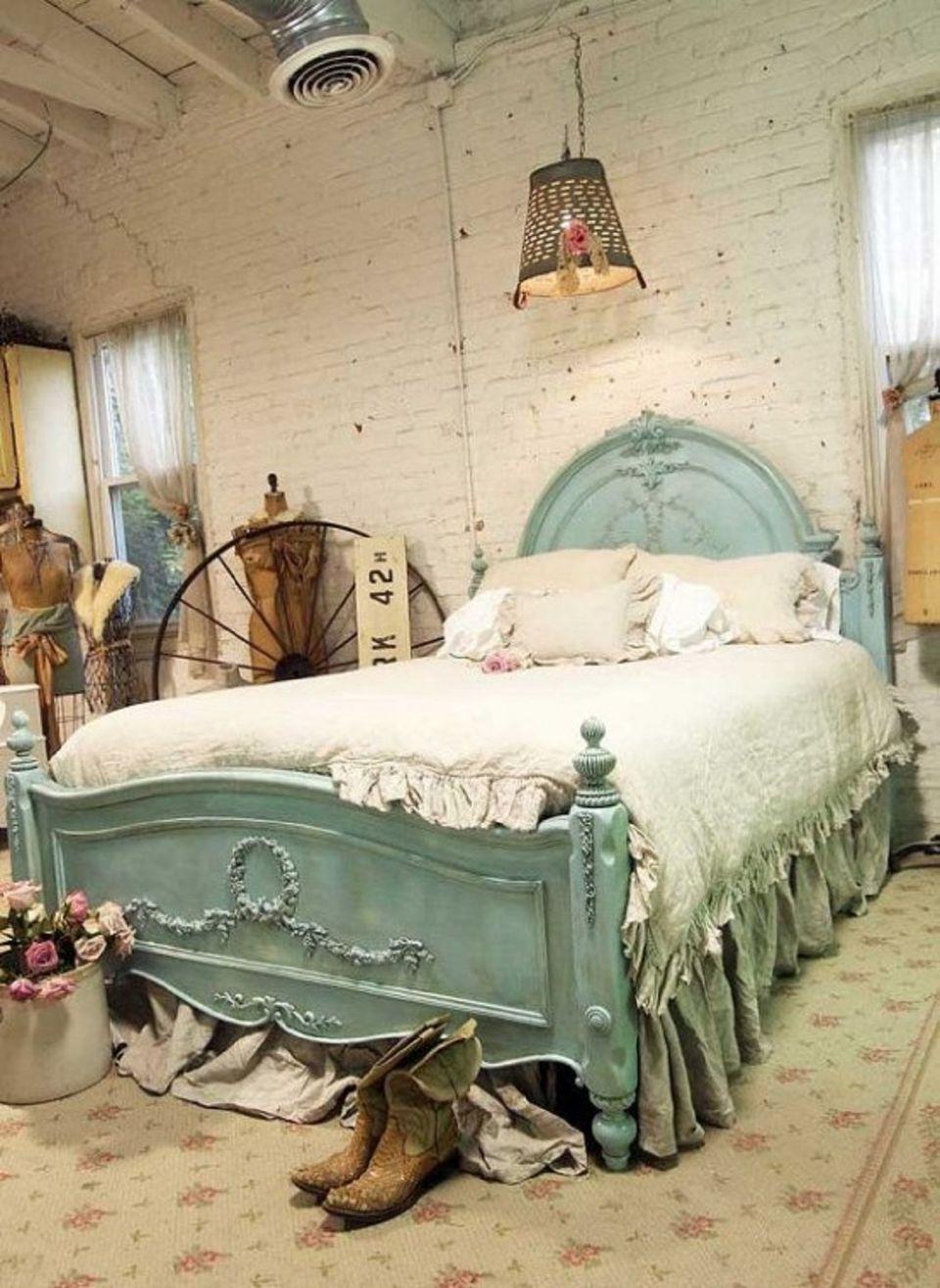 Vintage Concept for bedroom interior