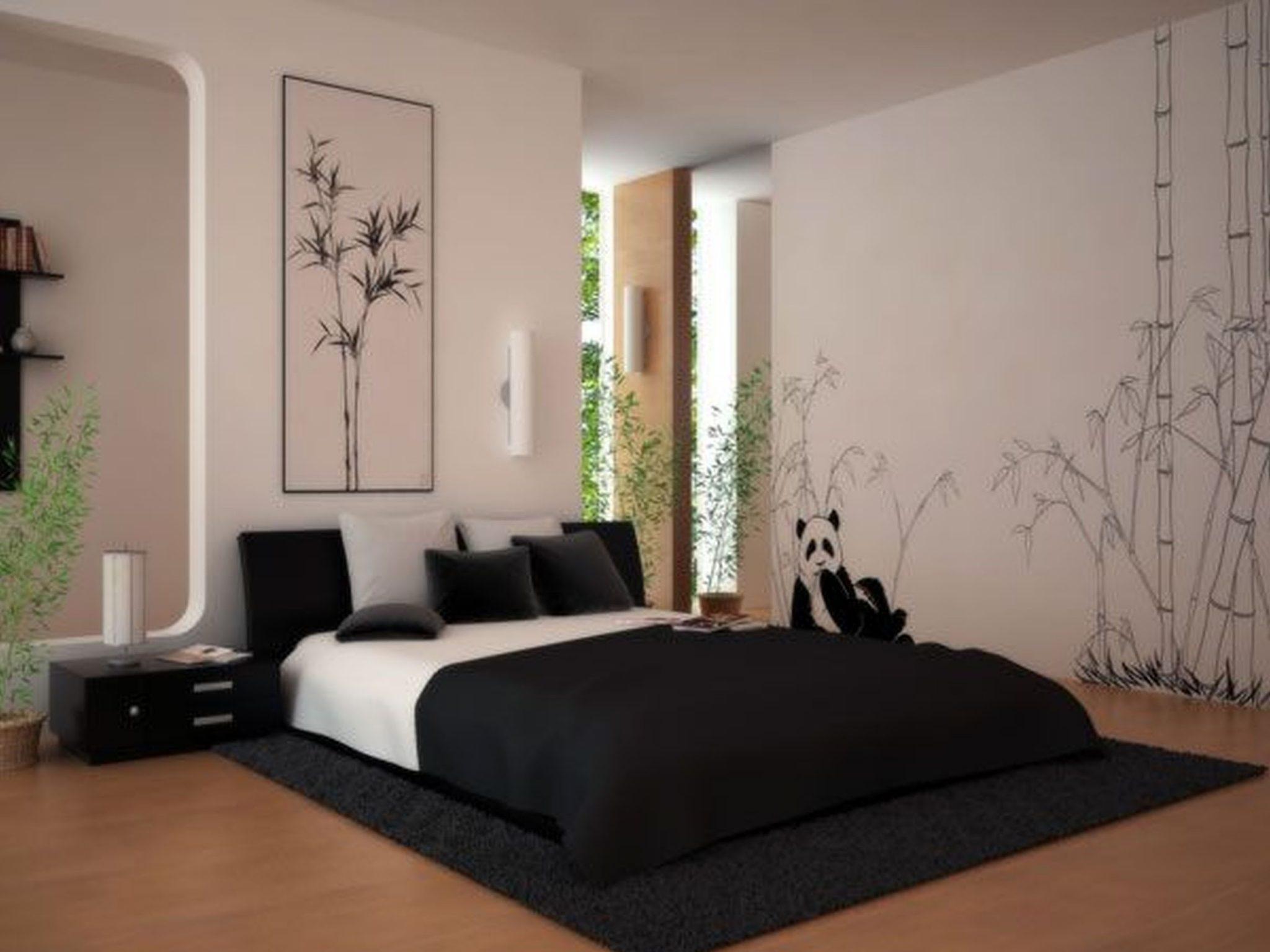 Teenage Girl Bedroom Black and White