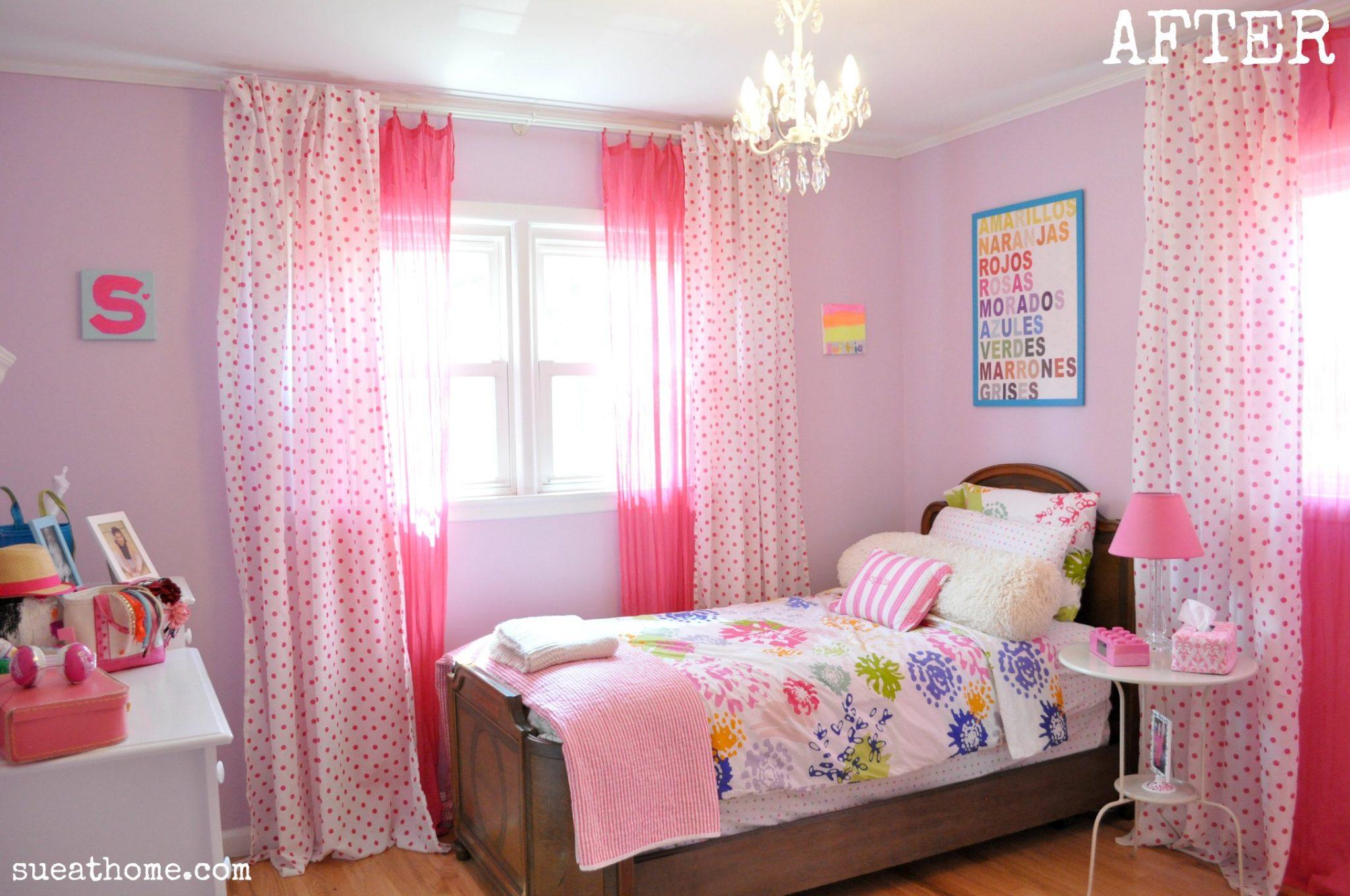 Curtain Teenage Girl Bedroom Ideas