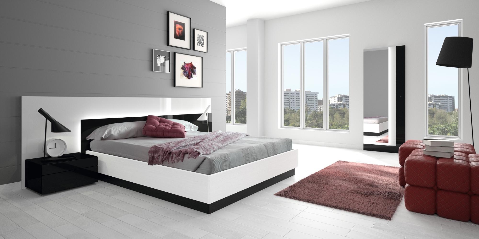 Modern Bedroom of Teenage Girl