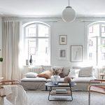 Bright white studio home