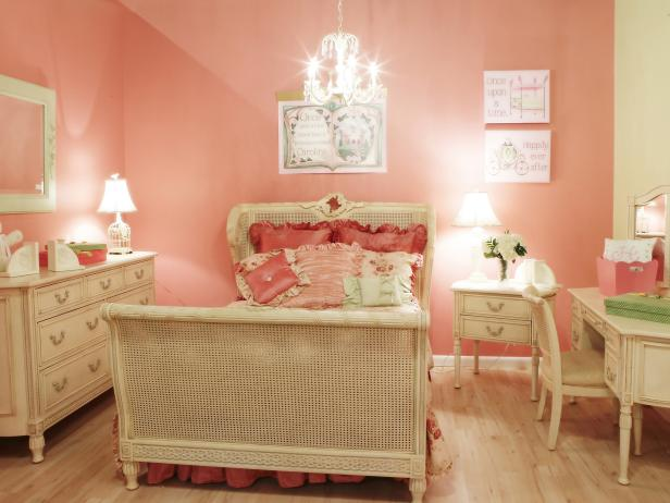 Color of Teenage Girl Bedroom Idea