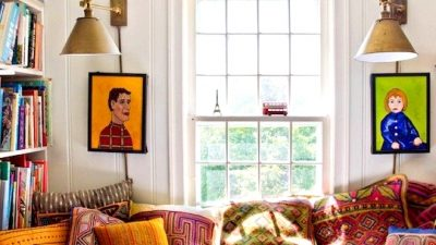 10 Parts in A Comfy Bohemian Studying Nook