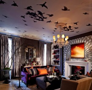 Your Halloween Celebration will be More Fun with these 10 Spooky Living Room Decor Ideas