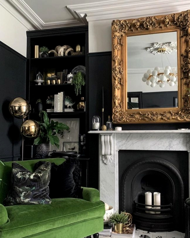 Luxurious Victorian Edwardian Style living room decor