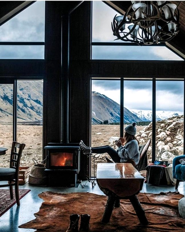 Cabin In New Zealand Straight Out of a Fairy Tale
