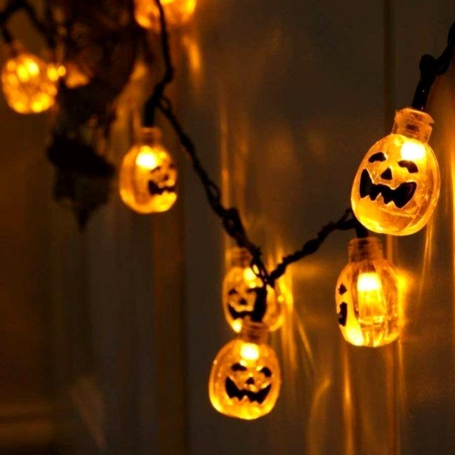 decorative Halloween Pumpkin String Lights