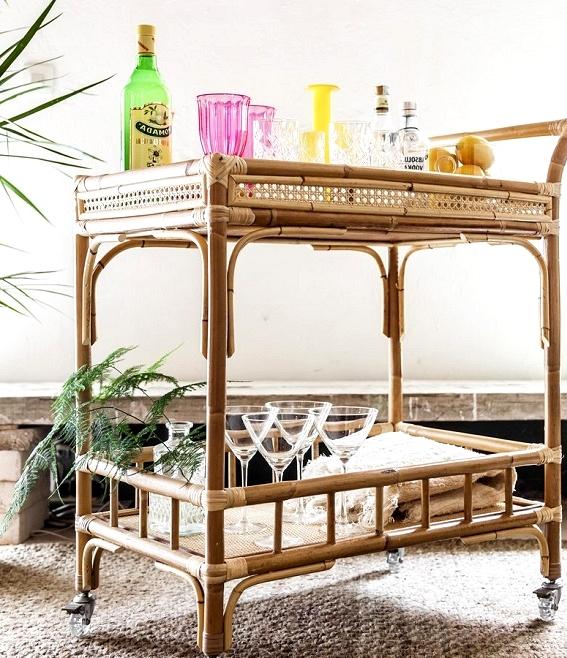 TIRETTA_22_living_cane_furniture_artesanal_made_in_spain_camarera_carrito_bar_cart_bambu_mimbre_tireta_coctail_retro_vintage_tiki_miami
