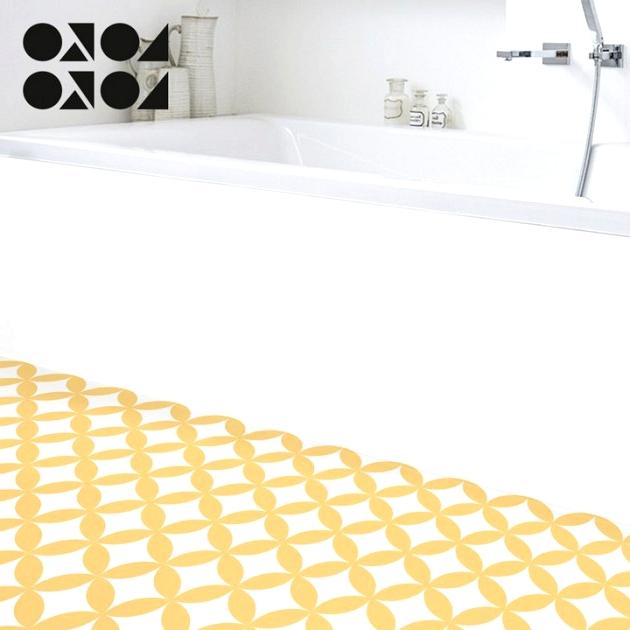 mosaic-of-yellow-circles