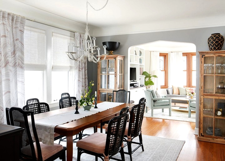 centered by design dining room