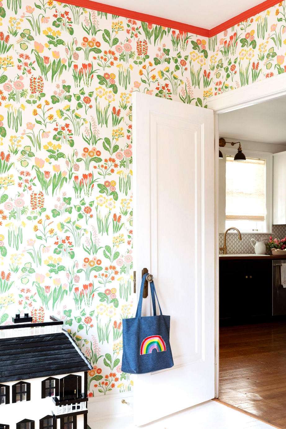 centered by design playroom wallpaper makeover