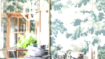 Earlier than & After : How A Wallpaper Makeover Utterly Remodeled This Designer's Eating Room