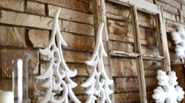 100 Concepts for Your Rustic Winter Residence Ornament
