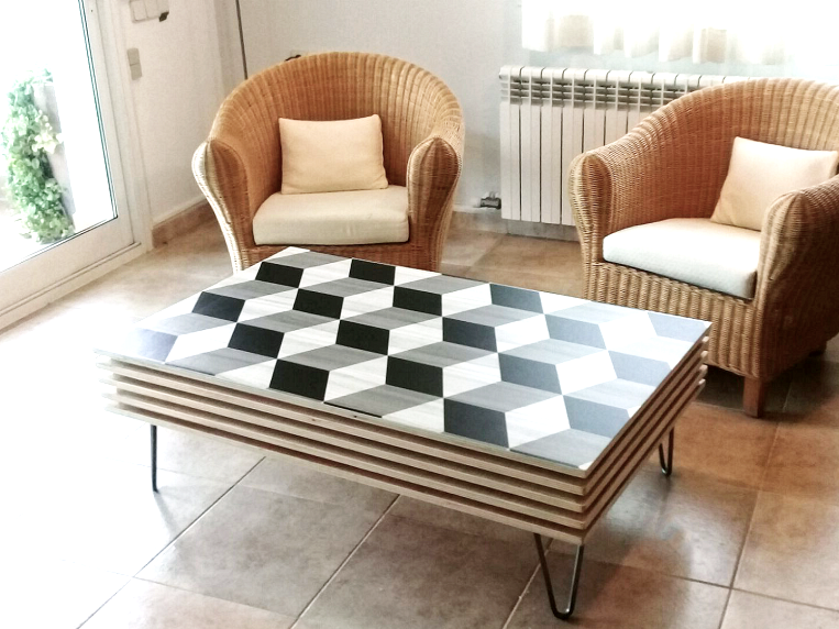 Self-adhesive-vinyl-for-coffee-tables-of-apartments-wooden-cubes-lokoloko-design