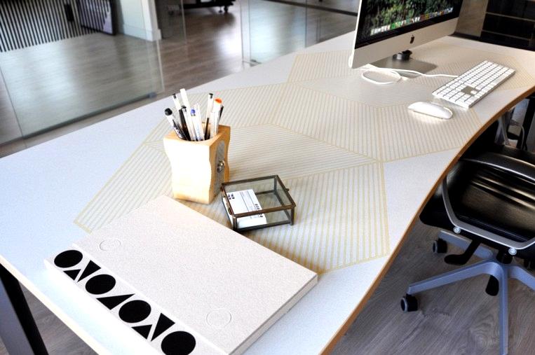 Renovating-office-tables-with-self-adhesive-vinyl-geometry-10-mustard-yellow-lokoloko