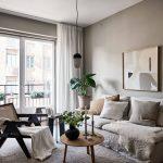 Cozy home in warm grey
