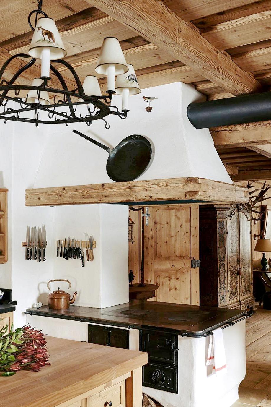 alpine lodge house tour