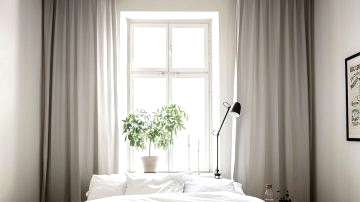 Bed room with a gentle look