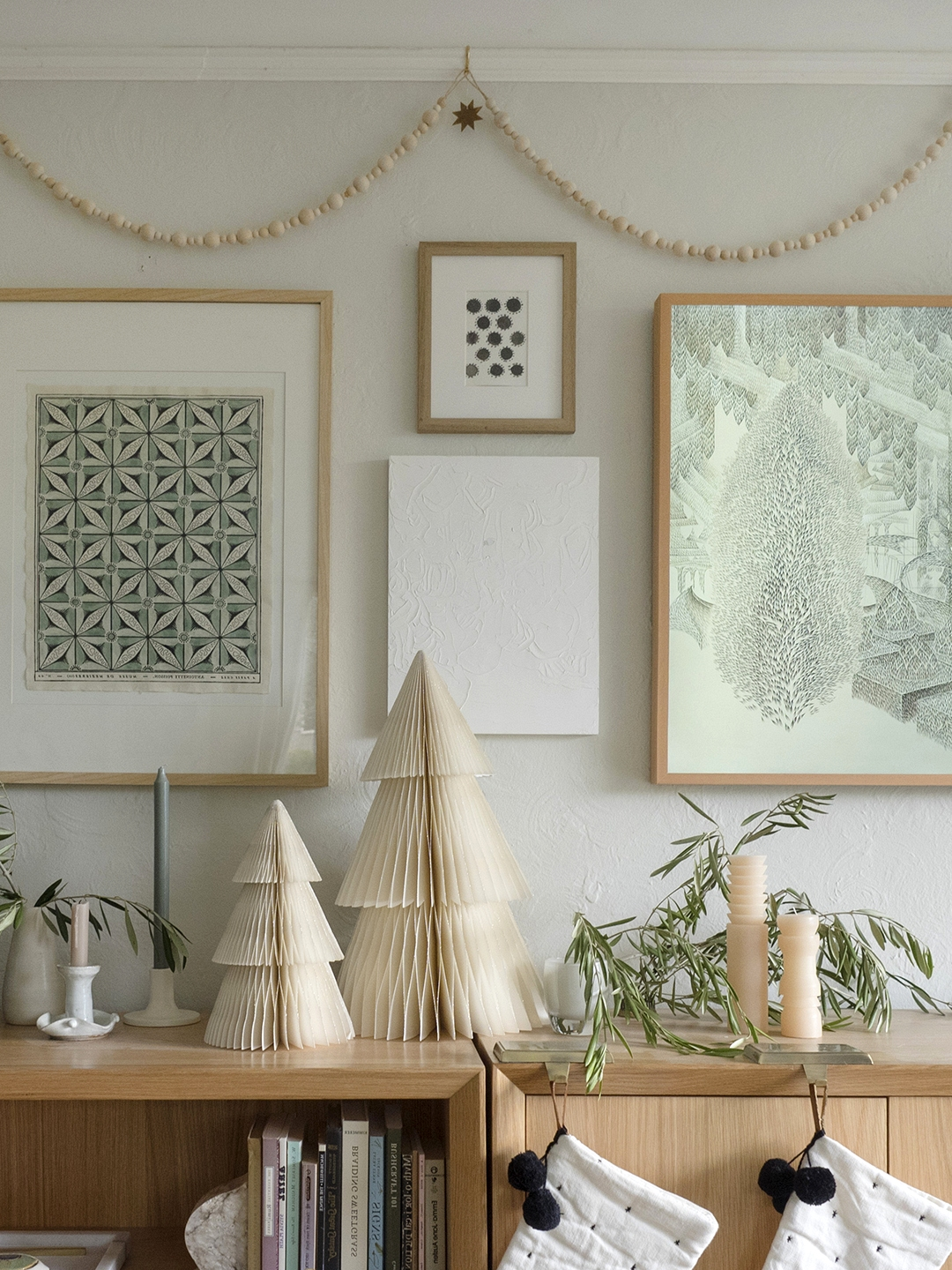 neutral winter holiday decor coco kelley